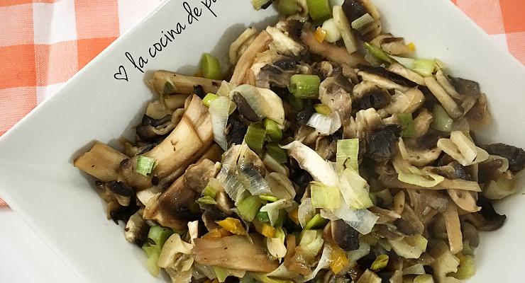 Relleno vegetal para platos salados