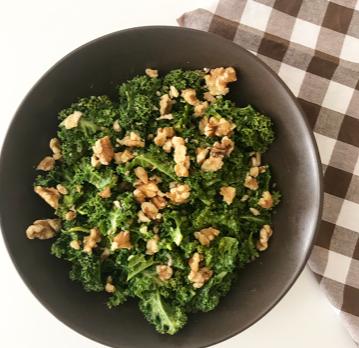 Ensalada de kale y mostaza