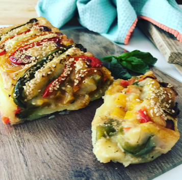 Pudin vegano de patata