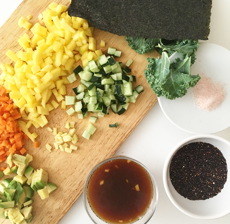 Ensalada fresca de quinoa negra con aderezo oriental la for Cocinar quinoa negra