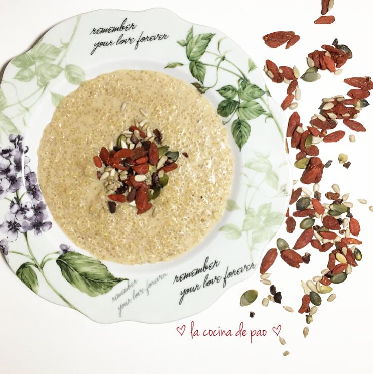 Quinoa fruit of love